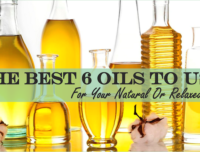 The Best 6 Oils To Use For Your Natural Or Relaxed Hair