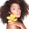 4a Natural Hair With Flower