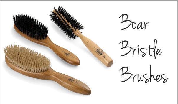 boar bristle brushes