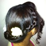 Summer Style – Bun Updo With Braid Detail