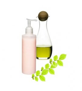 Moisturizer and oil for sealing hair