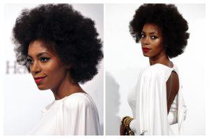 Solange Knowles' Shares Her Natural Hair Regimen