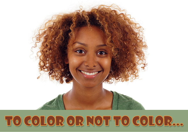 To color or not to color your hair