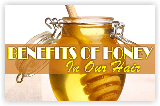 benefits of honey in our hair