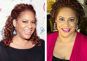 Kim Coles from micro braids to natural hair