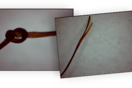 Single strand knots and split ends