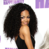 Teyana Taylor with long kinky curly hair