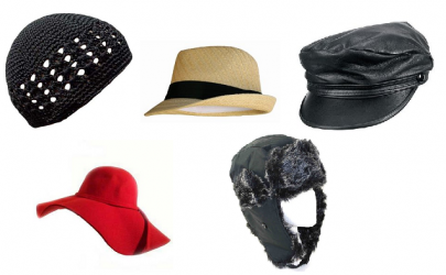 5 fall hats