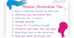 Tips on how to stretch your relaxer