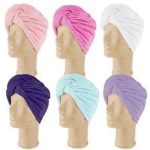 Turbie twist hair towel