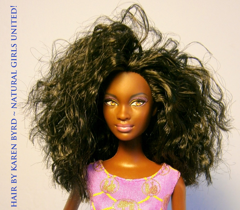Big Wavy Hair doll