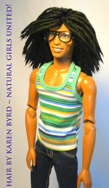 Male Dreadlock's Doll