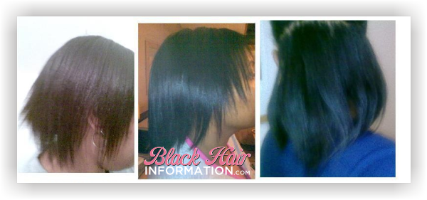 Relaxed hair growth