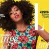 Solange Knowles on the cover of South Africa Elle magazine