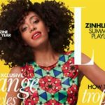 Solange On The Cover Of South Africa's Elle Magazine