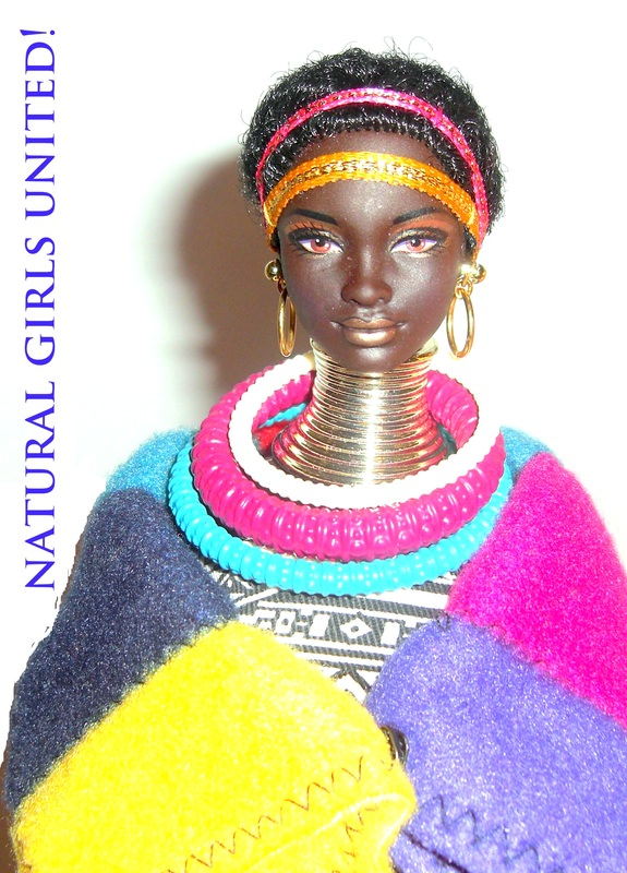 South of Africa doll