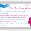 How to cross wrap - BHI postcard tips