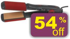 Farouk CHI GF1539 Turbo Big 2 Inch Ceramic Flat Iron Hair Straightener