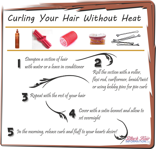Ways To Style Your Hair Without Heat  newhairstylesformen2014.com