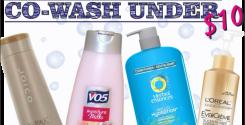 co-wash under 10