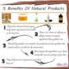 5 benefits of natural products
