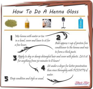 Henna Gloss Recipe Archives Black Hair Information