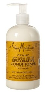 Shea Moisture Raw Shea Butter Restorative conditioner