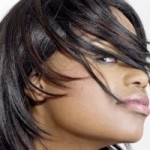 Tutorial on How To Give Relaxed Hair Movement. Yes even short Relaxed Hair!