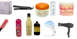 Ultimate hair product list