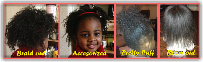 A Simple Natural Hair Regimen For Young Children 2