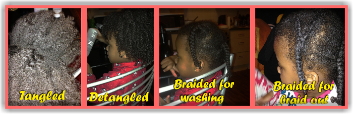 A Simple Natural Hair Regimen For Young Children