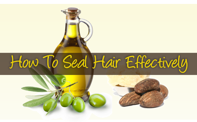 How to seal hair effectively