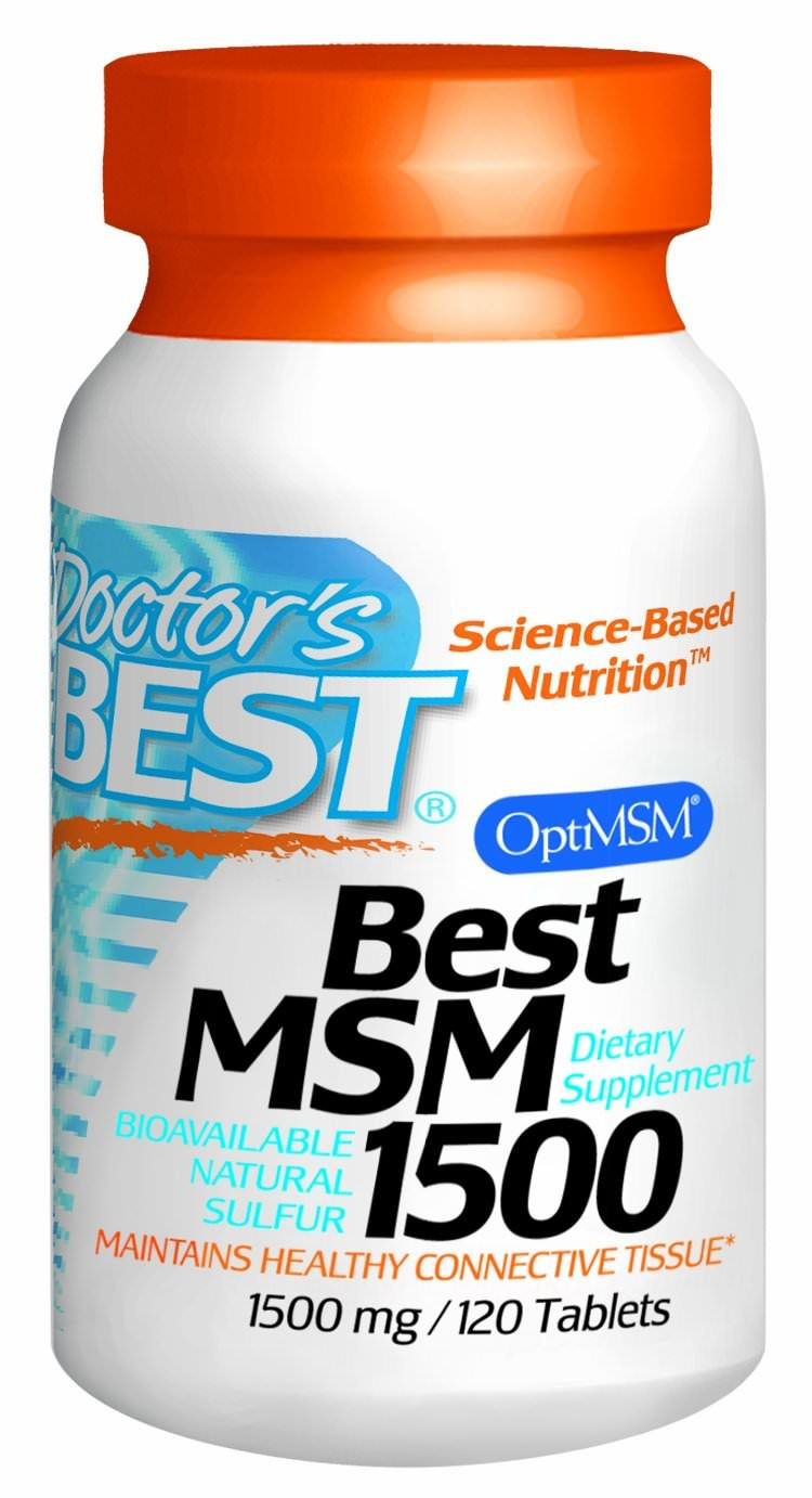 MSM hair growth supplement