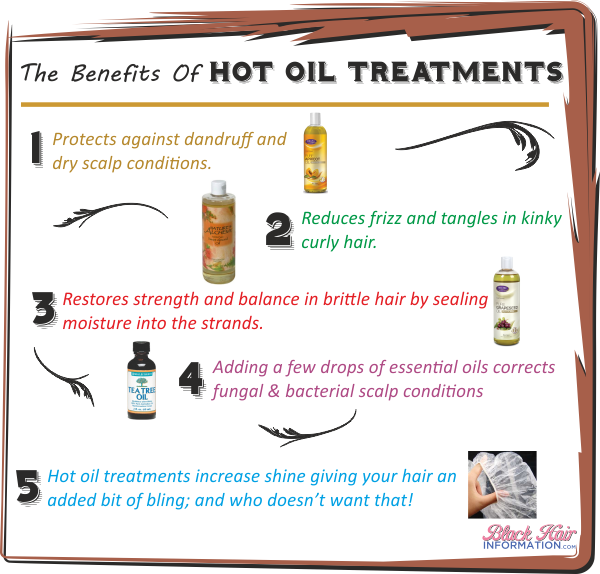 Postcard the many benefits of hot oil treatments