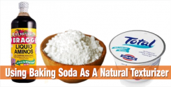 Using Baking Soda As A Natural Texturizer