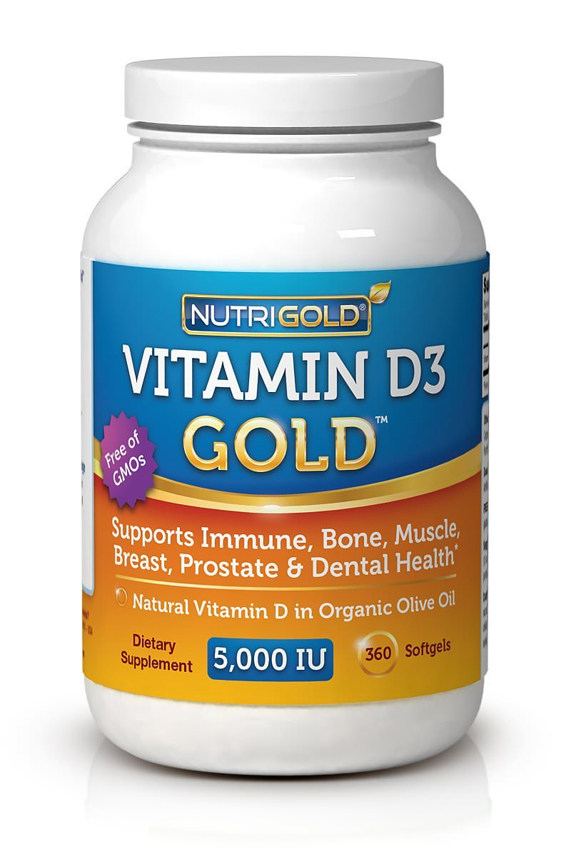 Vitamin D hair growth supplement