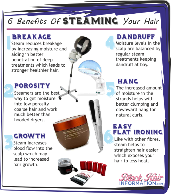 6 Benefits Of Steaming Your Hair