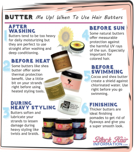 PCT - Butter Me Up When To Use Hair Buters