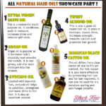 All Natural Hair Oils Showcase Part 2 – BHI Postcard Tips