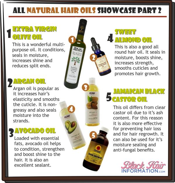 All Natural Hair Oils Showcase Part 2