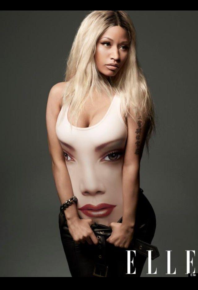 Nicki Minaj on Elle