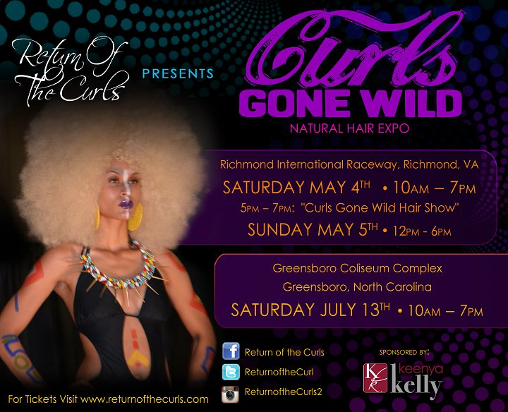 Return of the curls - curls gone wild natural hair expo