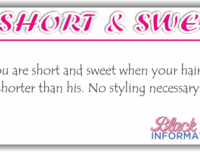 Short & Sweet – Shorter Than His
