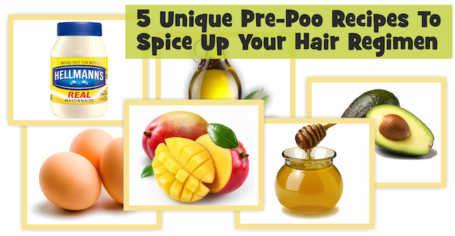 5 Unique Pre-Poo Recipes To Spice Up Your Hair Regimen