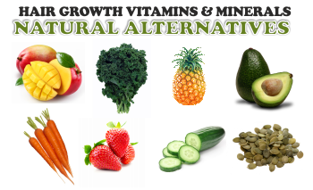 a z of hair growth vitamins and their natural alternatives
