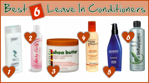 Best Spray Leave In Conditioner For Natural Hair