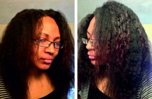 Hair banding - final results on natural hair