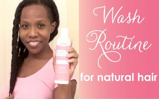 LUV naturals Kimmaytube wash day routine
