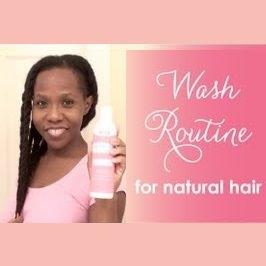LUV Naturals Easy Wash Day Routine For Natural Hair