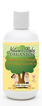 Nature's Baby Organics - Conditioner & Detangler Vanilla-Tangerine